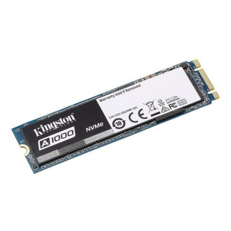 Disco duro ssd m.2 pcie gen3 x2 nvme kingston a1000 240gb