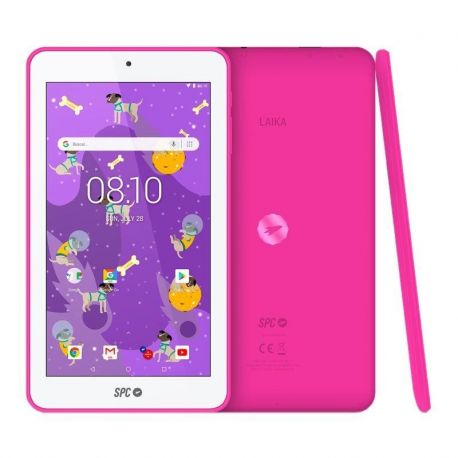 "Tablet 7"" spc laika 1gb 8gb rosa"