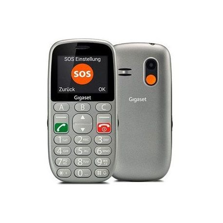Movil smartphone gigaset life series gl390 gris