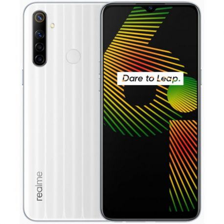 Realme 6i 4gb 128gb white milk