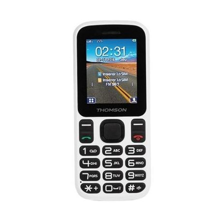 Thomson t12 telefono movil 1.77 bt dualsim blanco