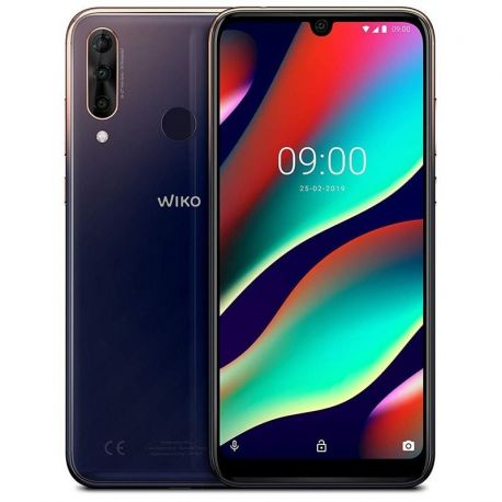 Wiko view3 pro 4gb 64gb nightfall