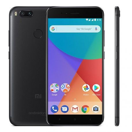"Xiaomi mi a1 5.5"" 4gb 64gb negro - global version"